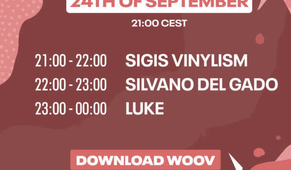 Noise Club episode 2 on september 24th from 9 pm CET