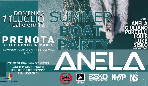 Boat Party w/Anela & Friends