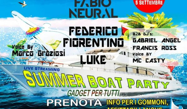 Boat Party episode 2 on september 5